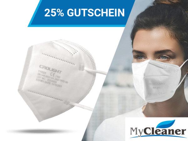 FFP2 Coupon: FFP2 Maske von CRDLIGHT mit 25% Aktion