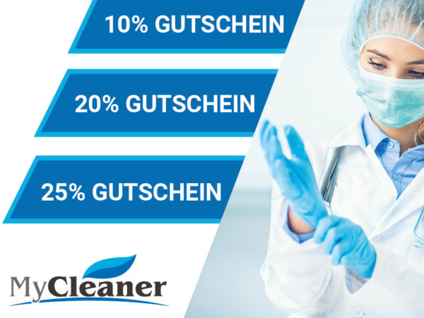Coupon für Mycleaner.eu
