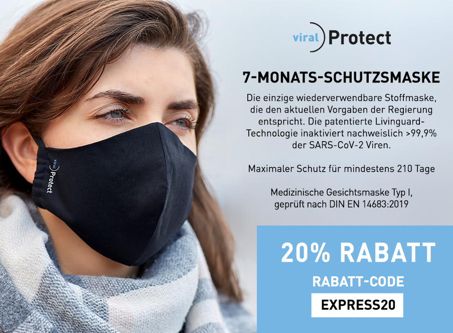 7-MONATS-SCHUTZMASKE Covid Coupon