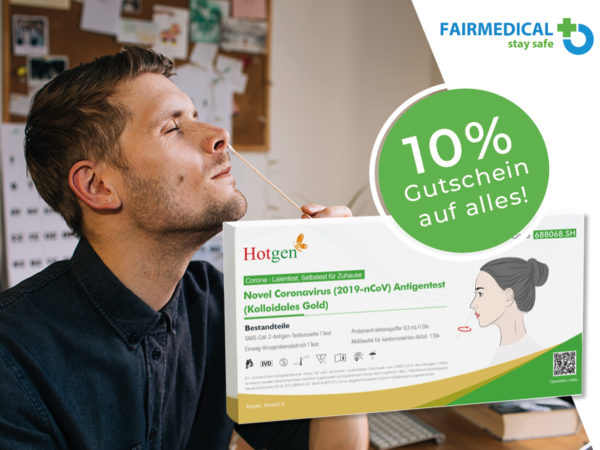 Fairmedical Selbsttest Covid Coupon