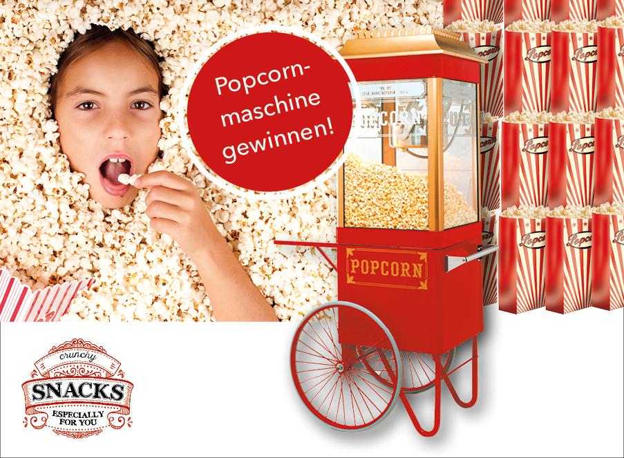 Gewinnspiel Popcornmaschine Coupon