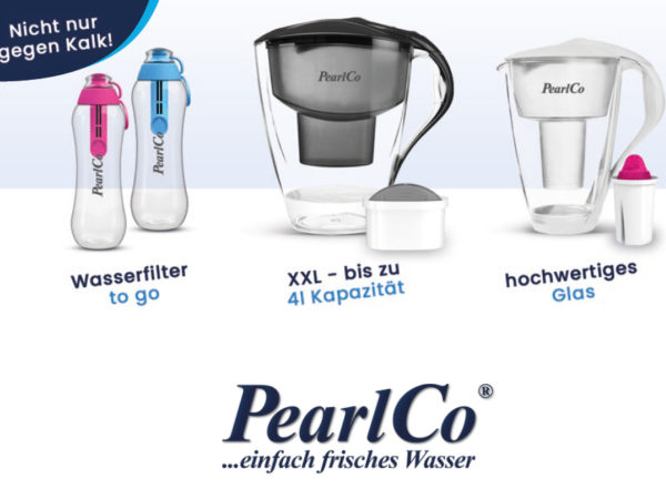PearlCo Wasserfilter Coupon