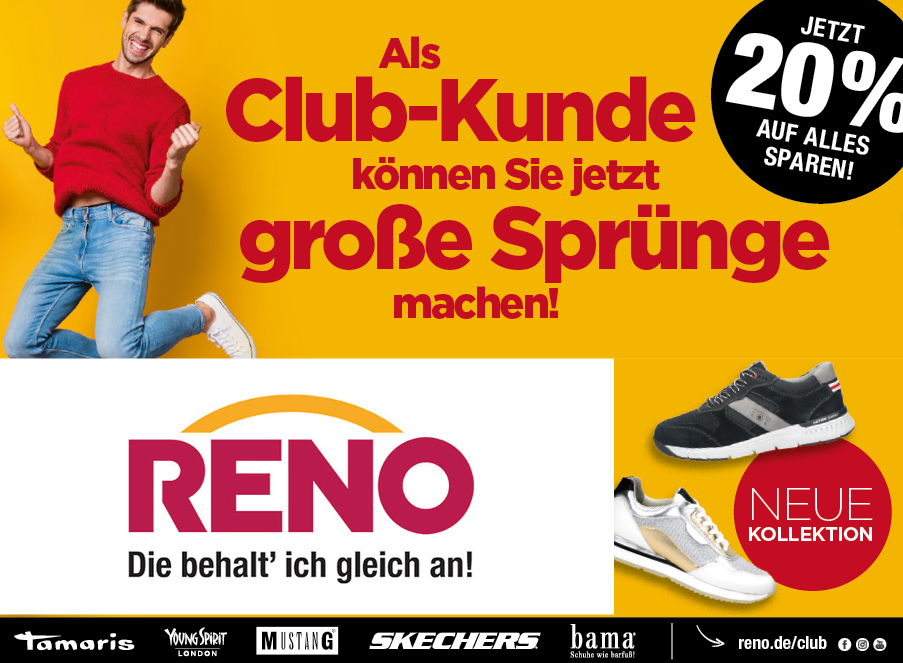 Club-Kunden Reno Coupon