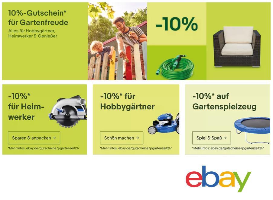 ebay Garten Rabatt coupon