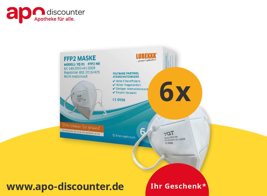 ffp2 Masken geschenkt coupon