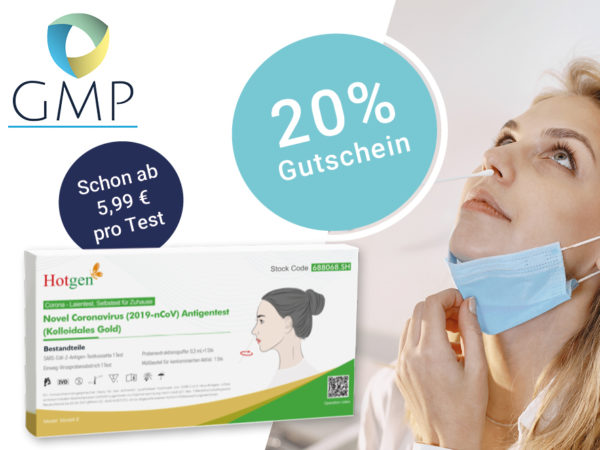 Covid Laientest GMP Coupon