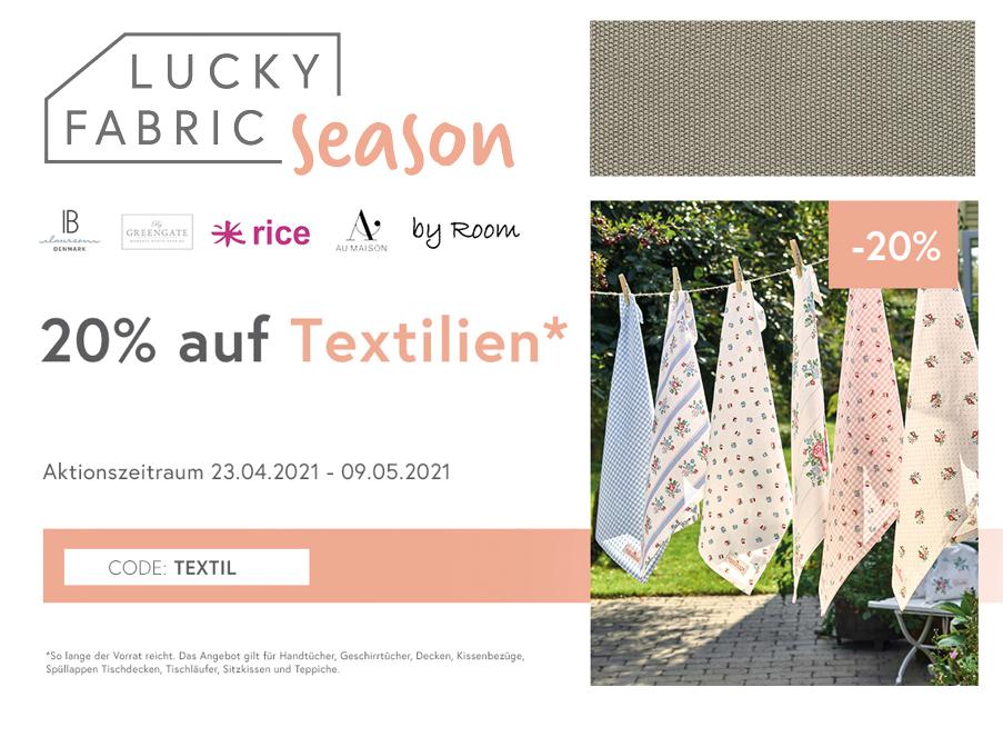 Lucky Fabric Coupon