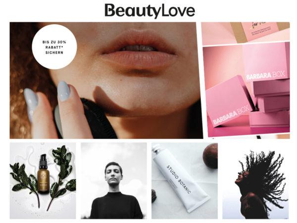 beauty love Rabatt Coupon