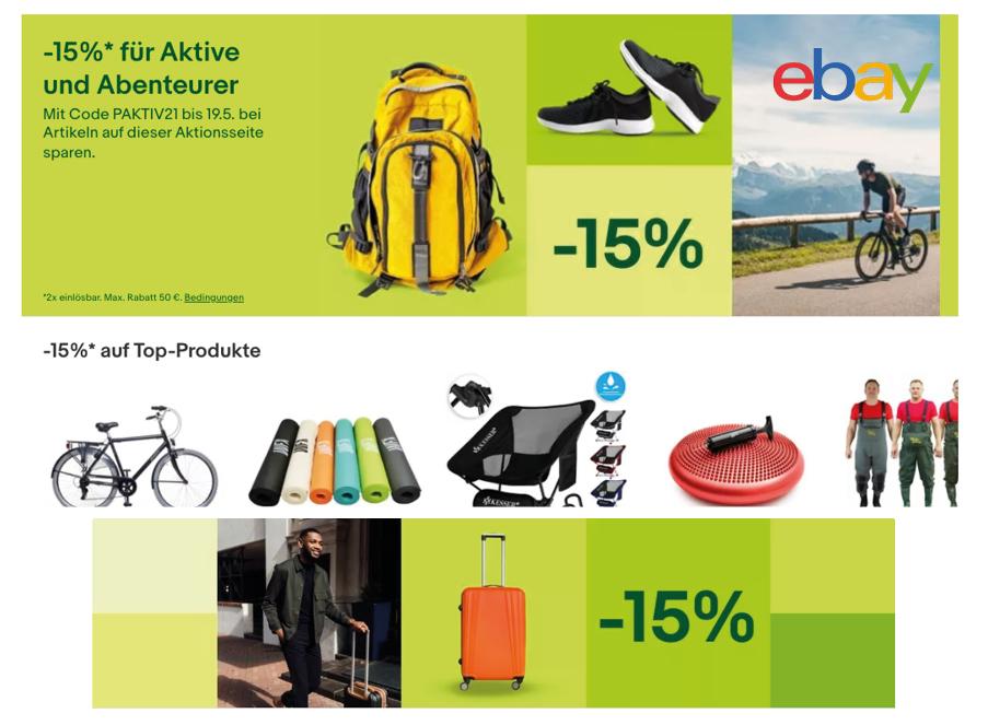 ebay Sport Rabatt Coupon