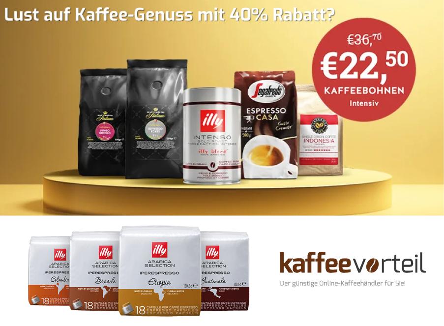 kaffeecorteil Rabatt code