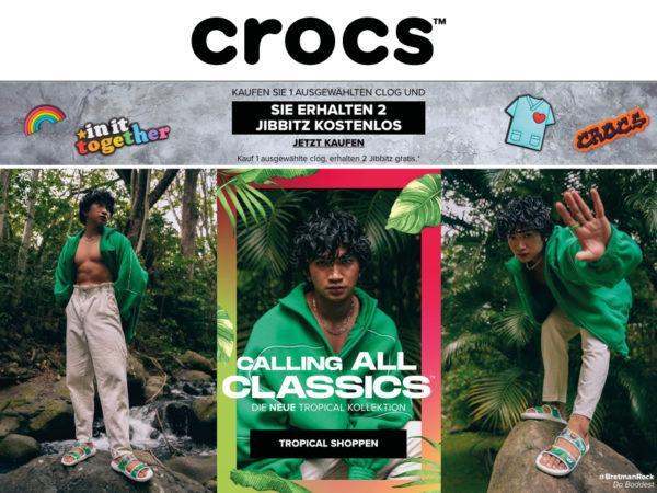 crocs Rabatt Code