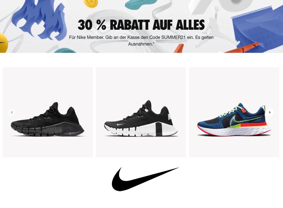 Nike Rabatt Coupon