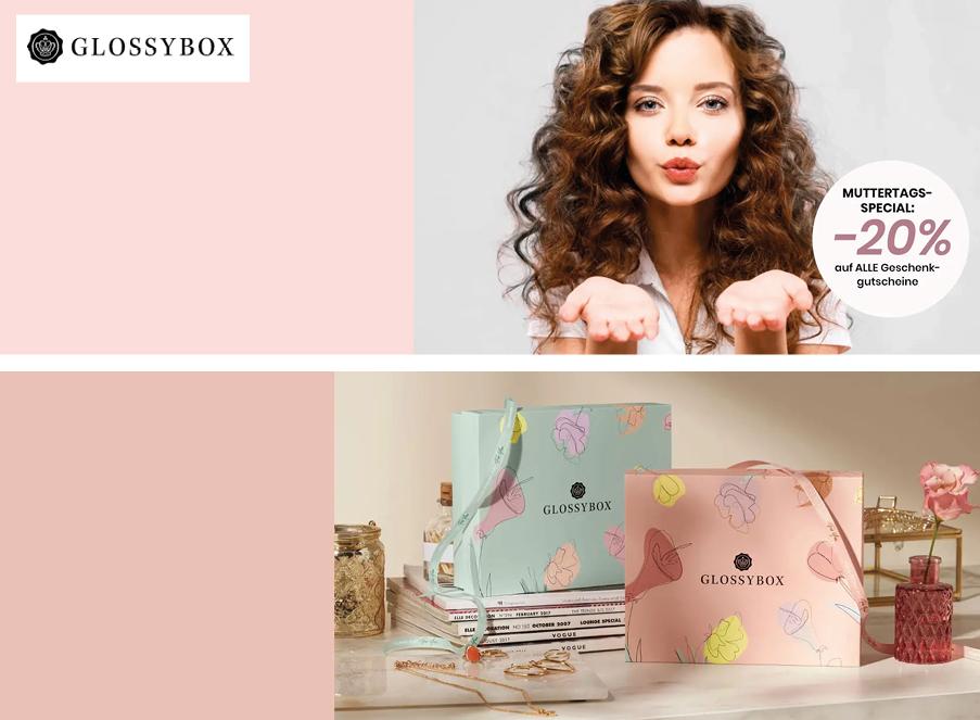 Glossybox kosmetik Coupon Rabatt