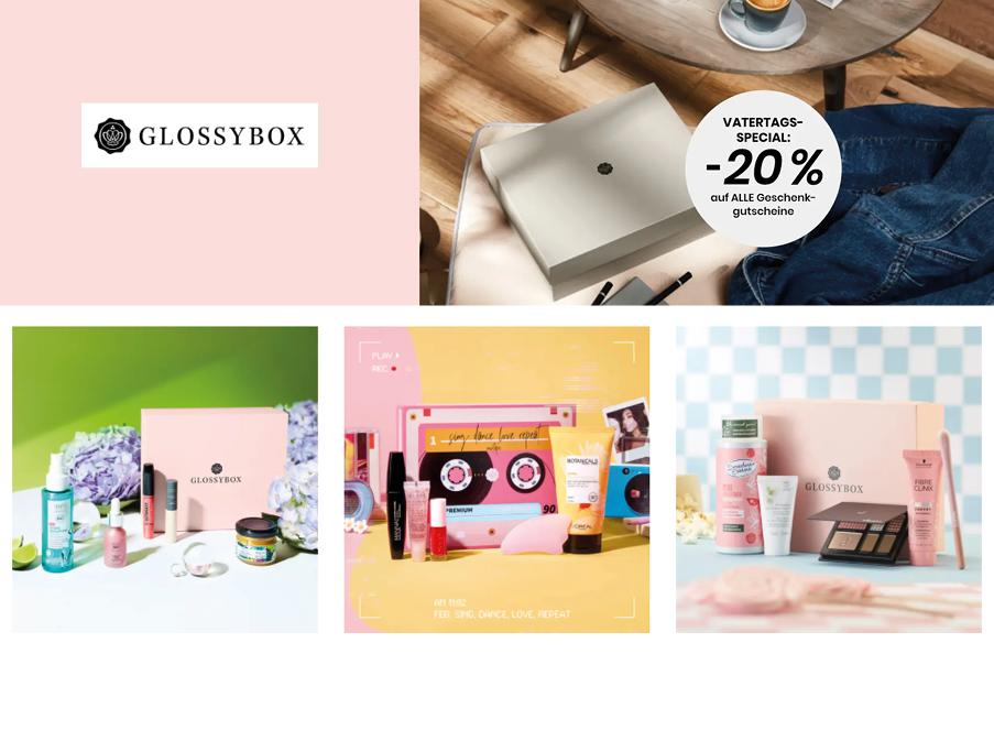 Vatertag glossybox