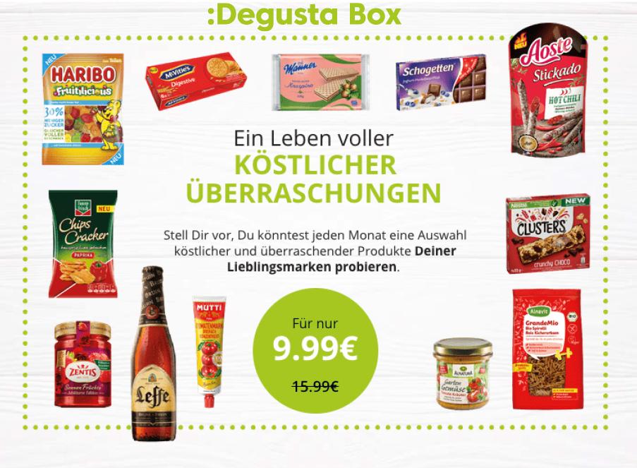 Degusta Rabatt Code