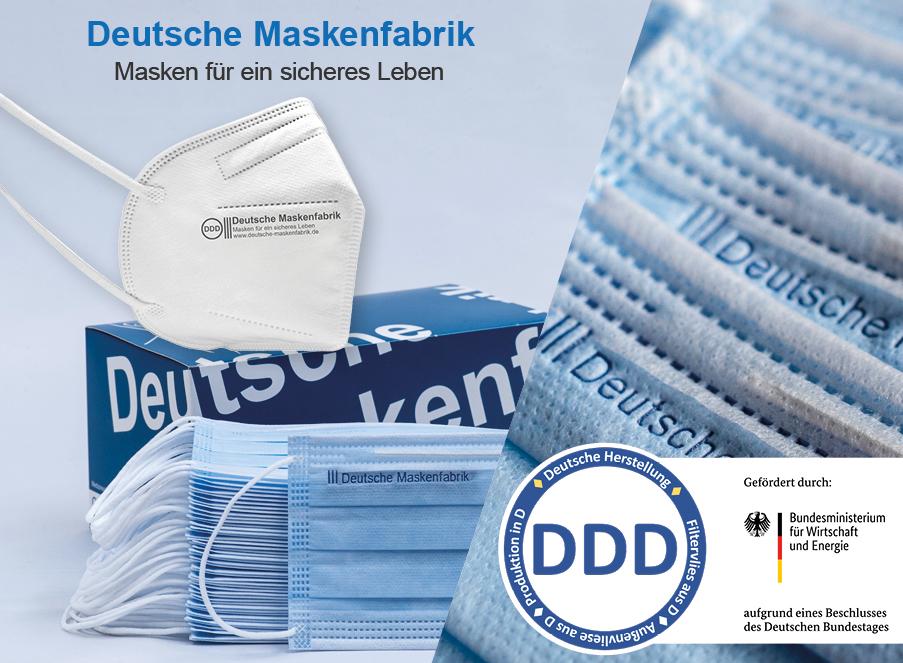 deutsche Maskenfabrik Rabatt Coupon