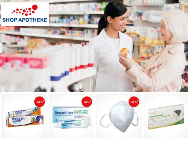 shop Apotheke Rabatt Coupon