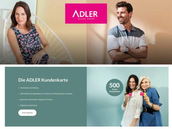 Adler Rabatt Coupon