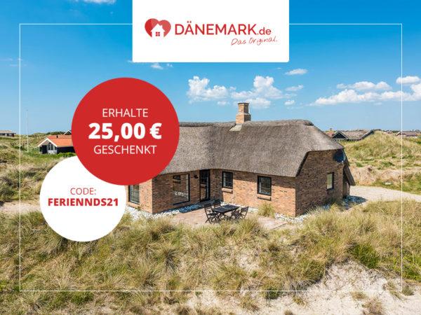 25 Euro Rabatt Coupon Dänemark daenemark.de